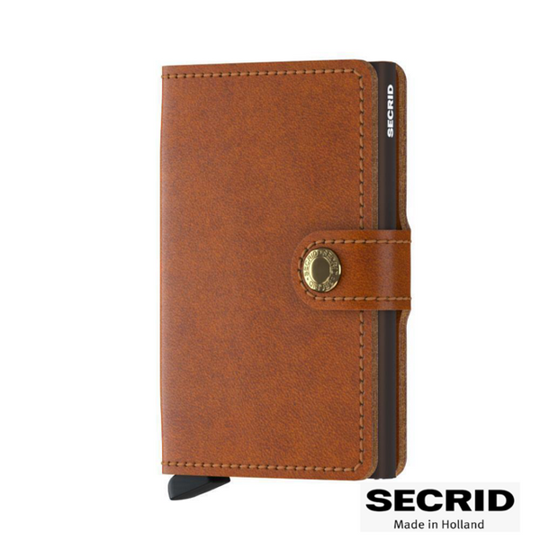 SECRID: MINI WALLET COGNAC BROWN