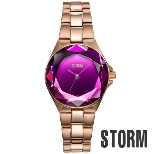 STORM: CRYSTANA ROSE GOLD PURPLE