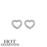 HOT DIAMONDS: HEART EARRINGS