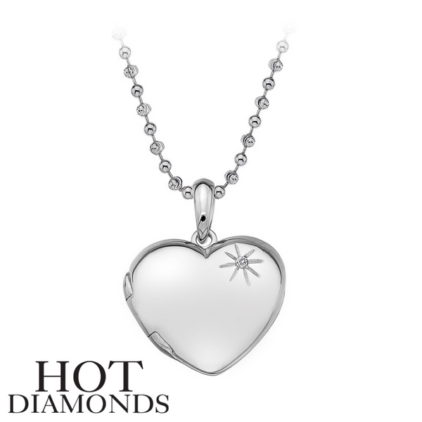 HOT DIAMONDS: MEMORIES HEART LOCKET