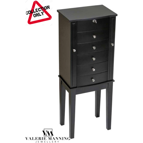 JEWELLERY ARMOIRE (BLACK)