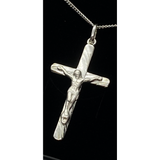 VMJ STERLING SILVER LARGE CRUCIFIX