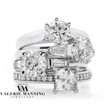 DIAMONDS @ VMJ: PEAR SHAPE CLUSTER RING WITH DIAMOND SHOULDERS