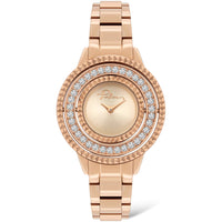 POLICE LADIES PILAT ROSE GOLD WATCH