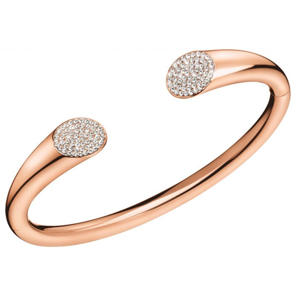 CALVIN KLEIN: BRILLIANT ROSE BANGLE