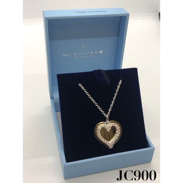 NEWBRIDGE SILVERWARE: MEMENTOS PENDANT WITH HEART