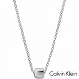 CALVIN KLEIN: PULL THROUGH SIDE NECKLACE