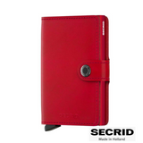 SECRID: MINI WALLET RED RED