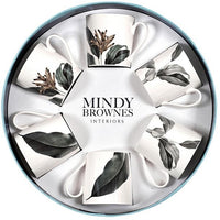 MINDY BROWNES BIRDS OF PARADISE CUP SET OF 6