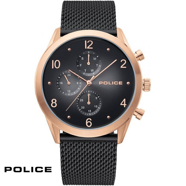 POLICE: BLACK SILFRA WATCH