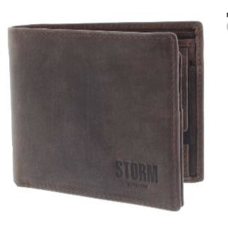 STORM: REESE BROWN LEATHER WALLET