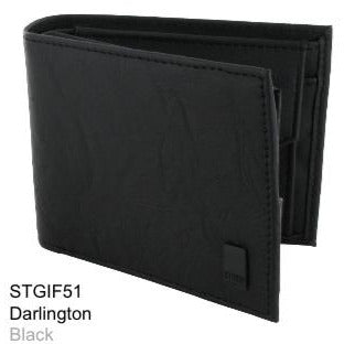 STORM: DARLINGTON BLACK PU WALLET