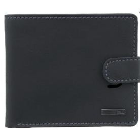 STORM: NEWPORT BLACK/BROWN LEATHER WALLET