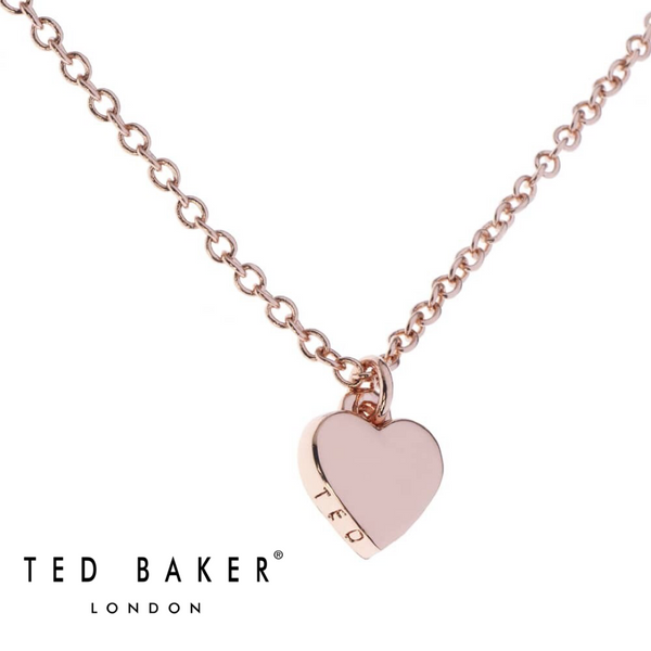HARA: ROSE GOLD TINY HEART PENDANT