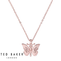 BELRA: ROSE MINI BUTTERFLY PENDANT