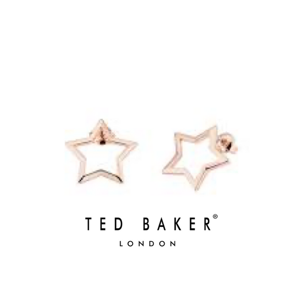 IAVORA: ROSE GOLD INTERSTELLA STUD EARRING