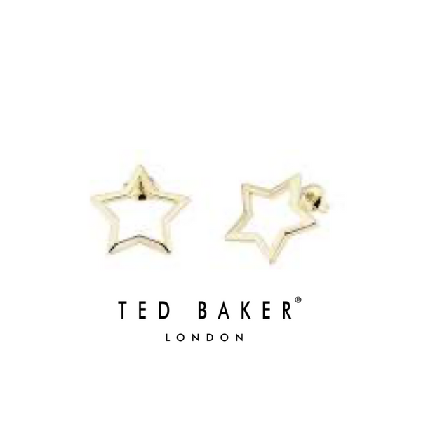 IAVORA: GOLD INTERSTELLA STUD EARRING