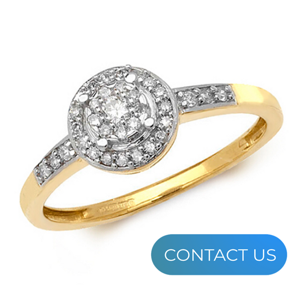 DIAMONDS @ VMJ: ILLUSION SET ROUND DIAMOND RING WITH DIAMOND SHOULDERS