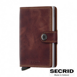 SECRID: MINI WALLET VINTAGE BROWN