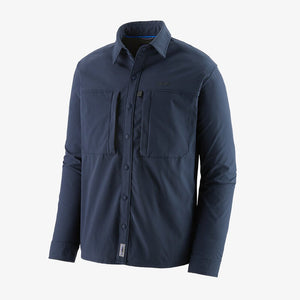 Men's Long-Sleeved Snap-Dry Shirt
