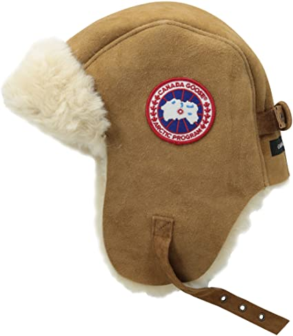 Canada Goose Suede Shearling Pilot Hat