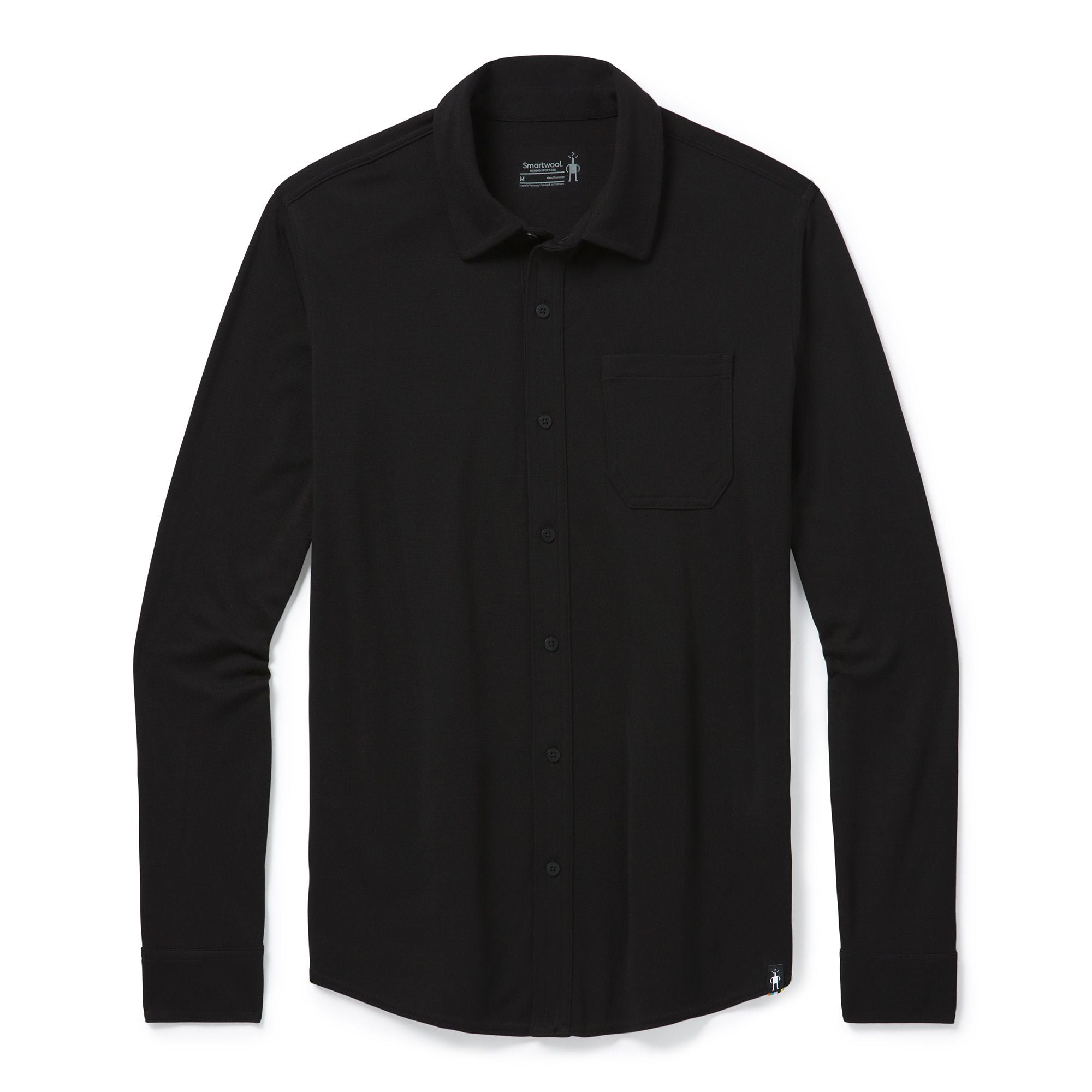 Men's Merino Sport 250 Long Sleeve Button Up