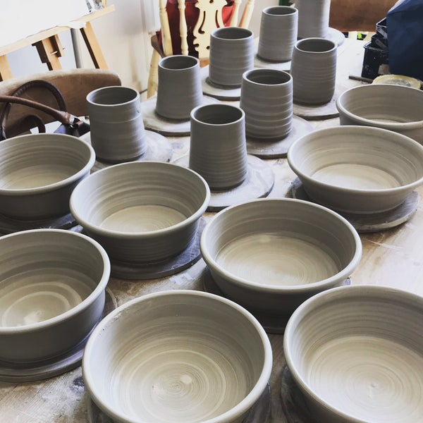 3 Day Pottery Throwing Workshop 20th/21st/22nd October