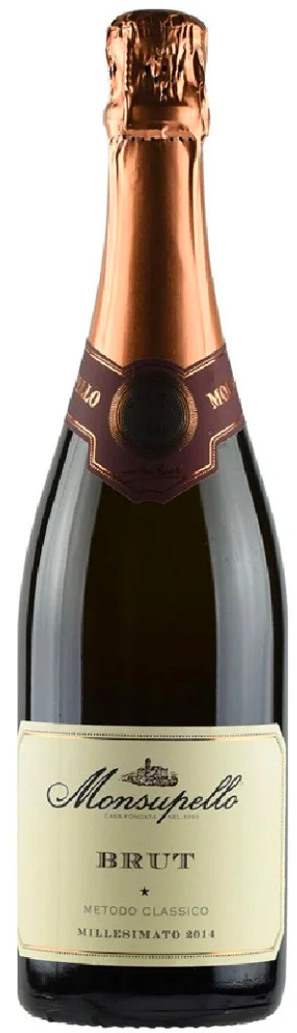 SPUMANTE BRUT MILLESIMATO 2014 MONSUPELLO