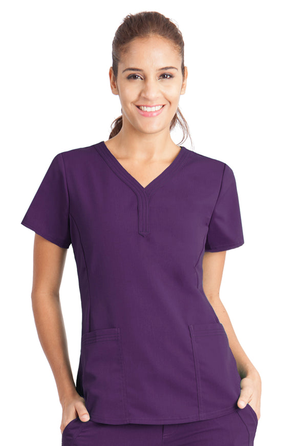 Healing Hands Purple Label Jane Top, Eggplant