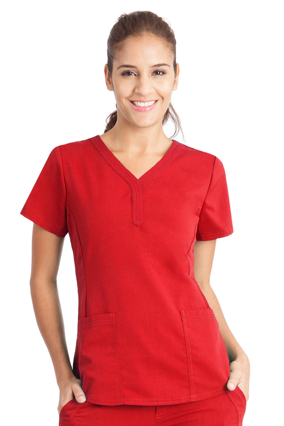 Healing Hands Purple Label Jane Top, Red