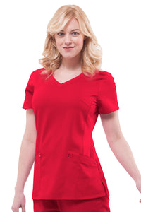 Healing Hands Purple Label Juliet Top, Red