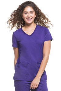Healing Hands Purple Label Juliet Top, Trugrape
