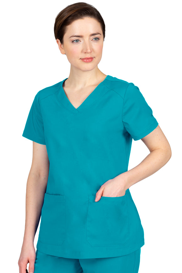 Healing Hands Purple Label Jill Top, Teal
