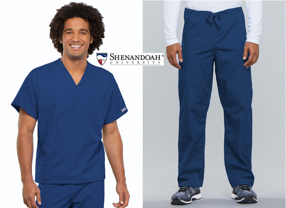 SU Nursing Mens Uniform Package 2 (4777/4100S Short)