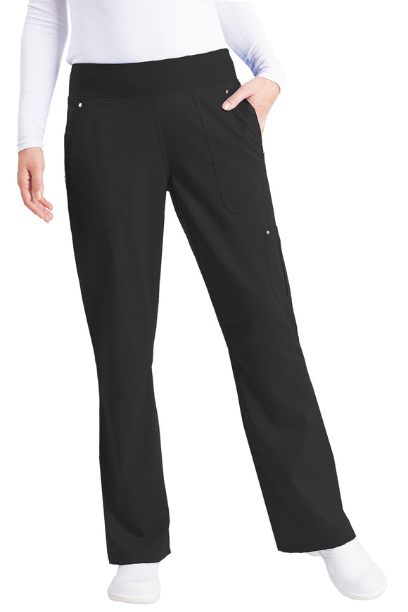 Healing Hands Purple Label Tori Pant Petite Yoga, Black