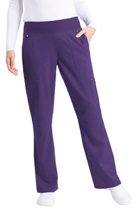 Healing Hands Purple Label Tori Pant Tall Yoga, Eggplant