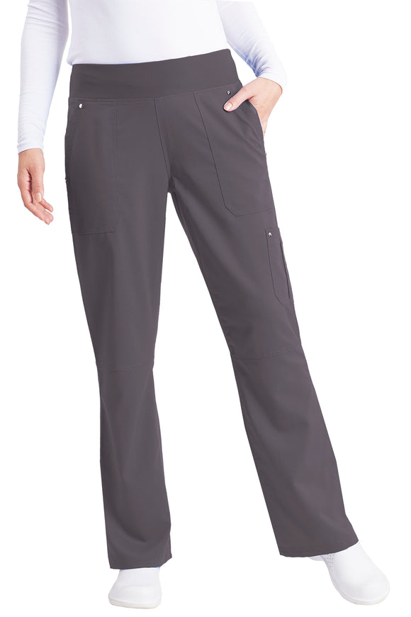 Healing Hands Purple Label Tori Pant Petite Yoga, Pewter