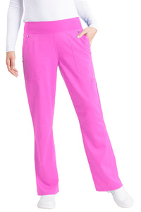 Healing Hands Purple Label Tori Pant Petite Yoga, Shocking Pink