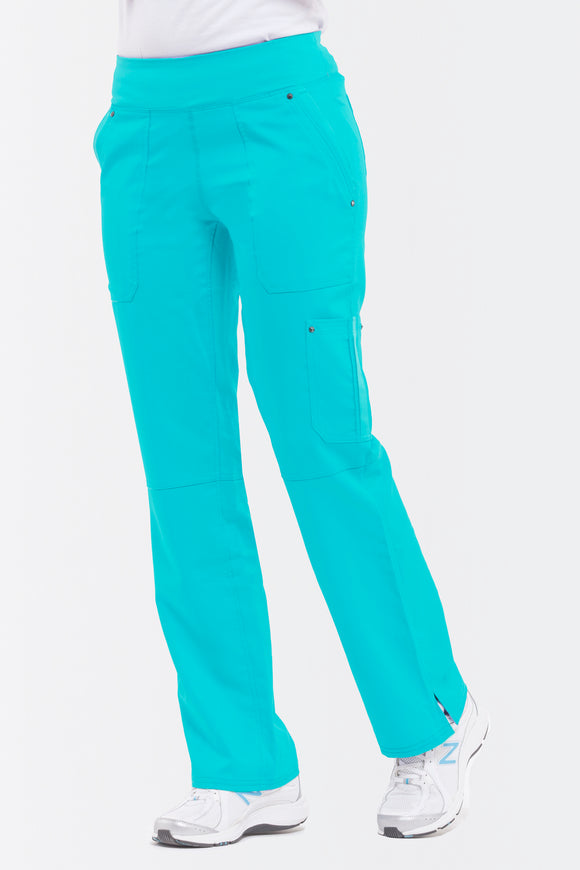 Healing Hands Purple Label Tori Pant Petite Yoga, Teal