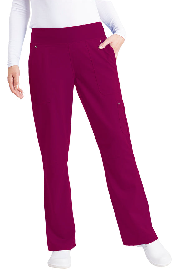 Healing Hands Purple Label Tori Pant Petite Yoga, Wine