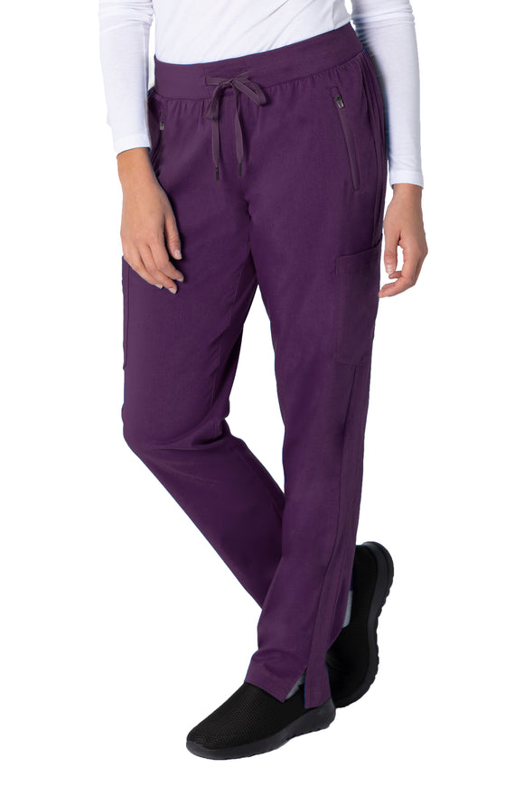 Healing Hands Purple Label Toni Pant Yoga, Eggplant