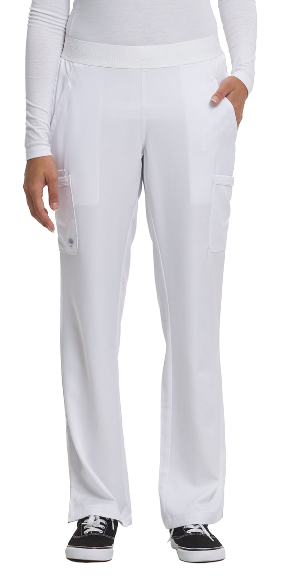 Healing Hands HH Works Rachel Pant Petite, White