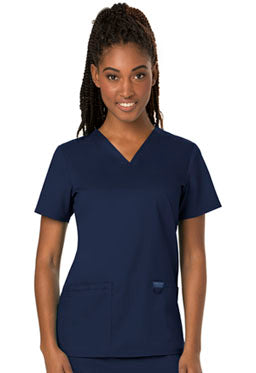 WW620 Women's Two Pocket V-Neck Top (LFCC Dental Hygiene)