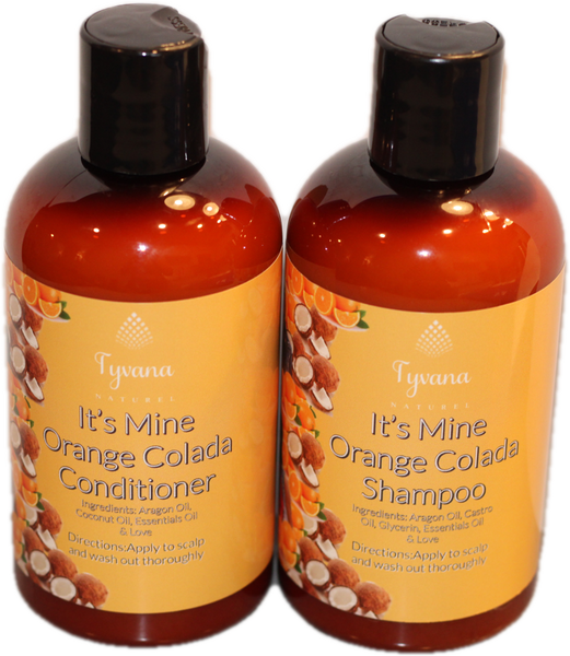 Orange Colada Shampoo & Conditioner