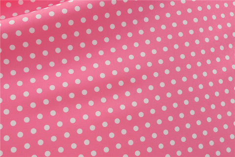Pink Polka Dot Vintage Dress