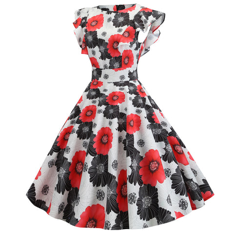 Daisy  Floral Vintage Dress