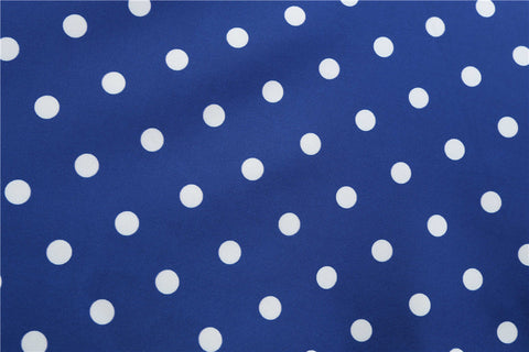 Royal blue Polka Dot Vintage Dress