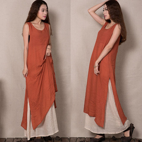 Cotton Dress in 3 Colors