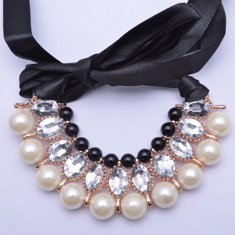 Plastic Pearl Necklace Jewelry