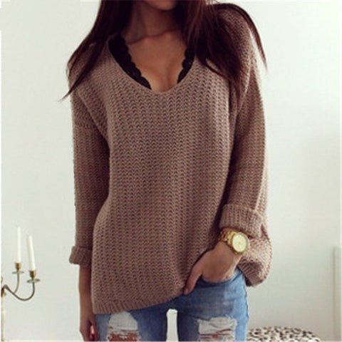 Brown Loose Sweater